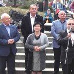Poseł Joanna Borowiak uczestniczyła na zaproszenie Rycerzy Kolumba w II Katolickim Pikniku Rodzinnym w Ciechocinku