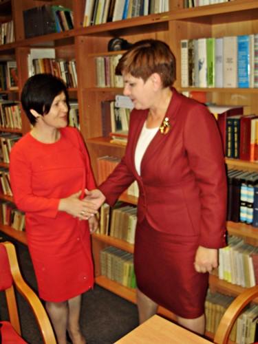 Spotkanie przedstawicieli Związków Zawodowych Grupy Kapitałowej ANWIL S.A. z p. Beatą Szydło