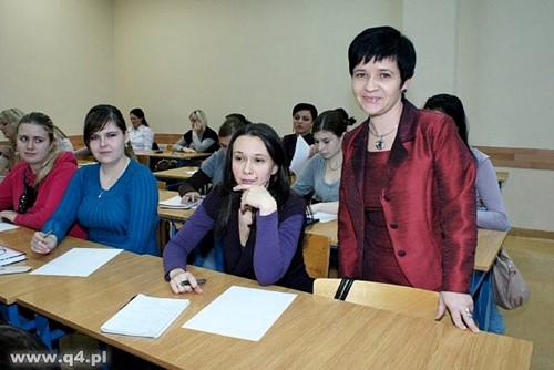 Warsztaty w Akademickim Centrum przy Wyższej Szkole Humanistyczno - Ekonomicznej we Włocławku poprowadziła dr Joanna Borowiak