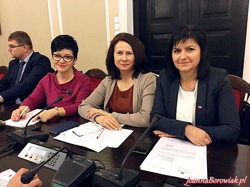 Posiedzenie Komisji Polityki Senioralnej z udziałem Poseł Joanny Borowiak