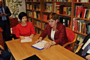 Spotkanie przedstawicieli Związków Zawodowych Anwil z Beatą Szydło