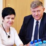 Poseł Joanna Borowiak spotkała się z Wojewodą Kujawsko-Pomorskim Józefem Ramlau