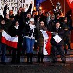 Nocny happening opozycji we Włocławku