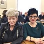 Poseł Joanna Borowiak podczas prac Sejmowej Komisji Zdrowia