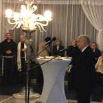 Spotkanie opłatkowe Klubu Parlamentarnego Prawo i Sprawiedliwość w Sali Kolumnowej Sejmu
