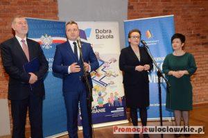 Minister Edukacji Narodowej Anna Zalewska z wizytą we Włocławku
