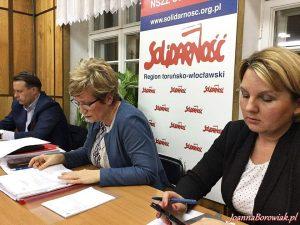 Posiedzenie zarządu Prawa i Sprawiedliwości okręgu torunsko-włocławskiego