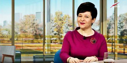 """Poseł Joanna Borowiak gościem programu """"Prosto w Oczy"""" w Telewizji Republika"""