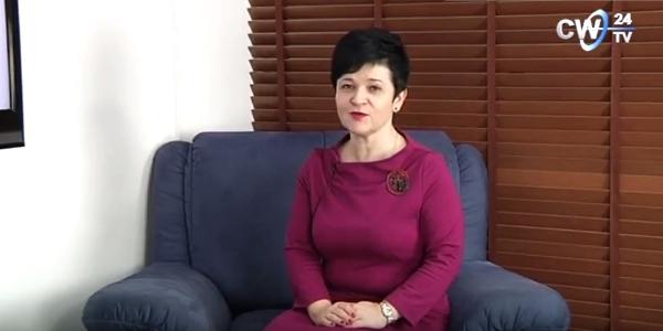 Poseł Joanna Borowiak w studio CW24