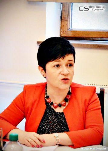 Poseł Joanna Borowiak w miejskim biurze PiS