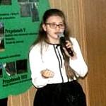 Konkurs Recytatorski poezji Ks. Jana Twardowskiego w Szkole Podstawowej i Gimnazjum Stowarzyszenia Przyjaciół Szkół Katolickich w Warząchewce Polskiej
