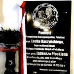 Obchody 77. rocznicy Zbrodni Katyńskiej i 7. rocznicy Katastrofy Smoleńskiej w Chełmnie