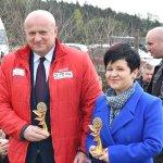 Uroczystość otwarcia boiska wielofunkcyjnego w Szkole Stowarzyszenia Przyjaciół Szkół Katolickich w Warząchewce Polskiej