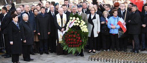 Poranna Msza św. w Kościele Seminaryjnym i Apel Pamięci przed Pałacem Prezydenckim w Warszawie