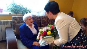 29 maja 2017 roku odbyła się uroczystość 104 urodzin Pani Władysławy Szebskiej mieszkanki Warząchewki
