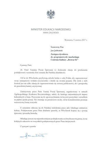 26. Finał Turnieju Poezji Śpiewanej we Włocławku