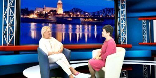 Poseł Joanna Borowiak rozmawia z redaktor Renatą Kończyńską o najważniejszych wydarzeniach z naszego miasta