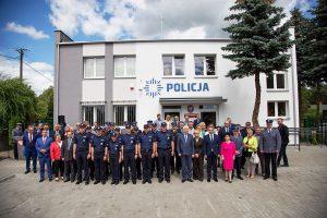 W Złejwsi Wielkiej Wojewoda Kujawsko-Pomorski Mikołaj Bogdanowicz otworzył przywrócony 50-ty Posterunek Policji
