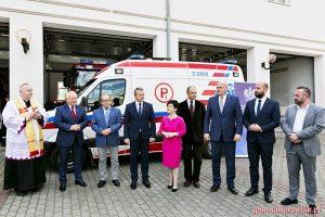 3 lipca 2017 r. nastąpiło uroczyste przekazanie Karetki Pogotowia Ratunkowego w Ciechocinku