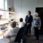 Wiceminister Kultury i Dziedzictwa Narodowego Pani Magdalena Gawin oraz Poseł Joanna Borowiak odwiedziły Fabrykę Fajansu we Włocławku