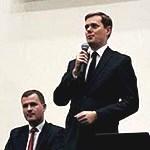 """Spotkanie otwarte z Posłem Prawa i Sprawiedliwości Jarosławem Krajewskim na temat: """"Państwo teoretyczne na przykładzie afery Amber Gold"""""""