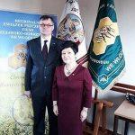 Poseł Joanna Borowiak została uhonorowana odznaką Złota Pszczoła
