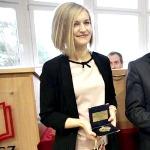 Poseł Joanna Borowiak uhonorowana Jubileuszowym Medalem PWSZ