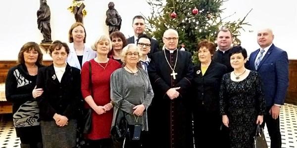Spotkanie opłatkowe w Wyższym Seminarium Duchownym we Włocławku