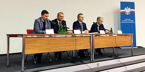 Spotkanie przedsiębiorców z wiceministrem finansów Panem Pawłem Gruzą w Bydgoszczy