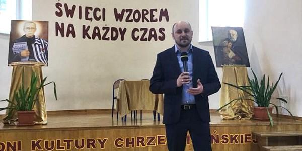 """""""Święci wzorem na każdy czas"""" - XVI Dni Kultury Chrześcijańskiej w ZSK im. ks. Jana Długosza we Włocławku"""