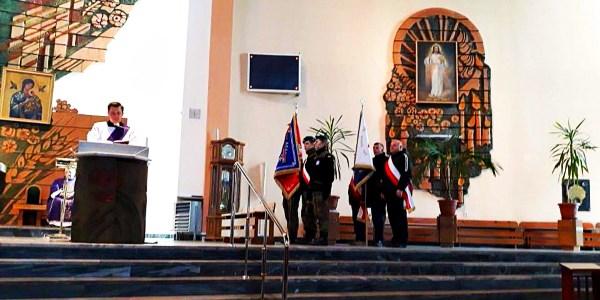Msza św. w intencji Ojczyzny w kościele pw. Najświętszego Zbawiciela we Włocławku