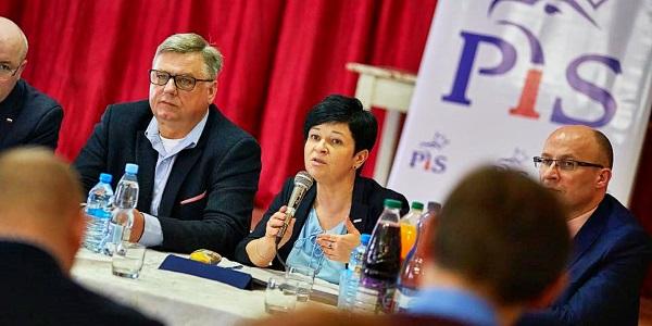 Spotkania Poseł Joanny Borowiak z mieszkańcami Topólki i Piotrkowa Kujawskiego
