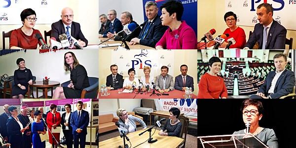 wystąpienia medialne Poseł Joanny Borowiak