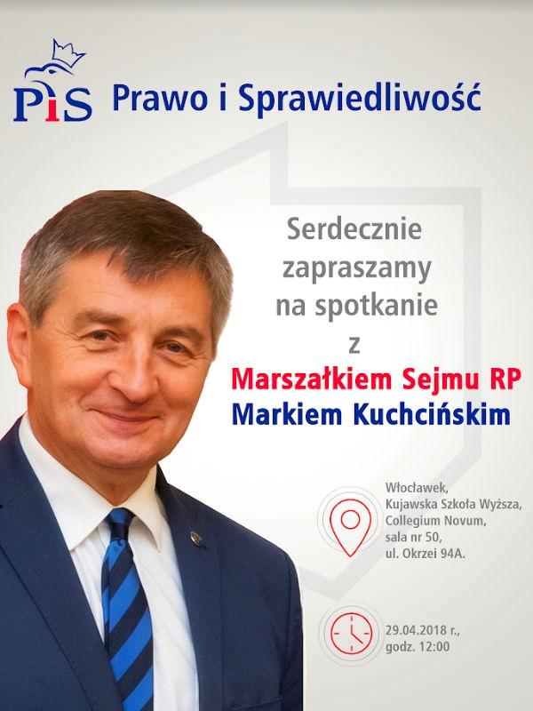 Spotkanie z marszałkiem Sejmu we Włocławku