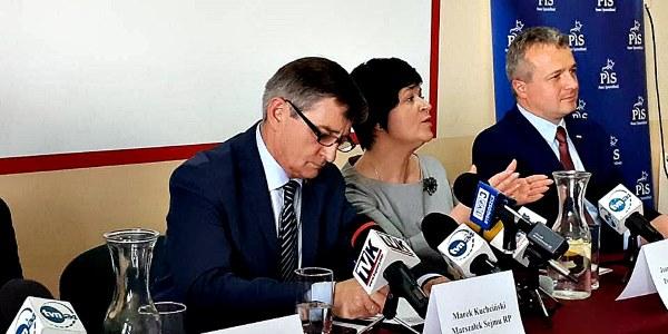 Wizyta Marszałka Sejmu RP Marka Kuchcińskiego we Włocławku