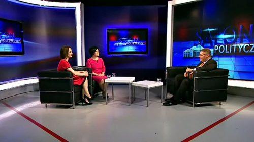 Gośćmi Tomasza Grzelewskiego w Telewizji Superstacja były Poseł Joanna Borowiak i Poseł Joanna Augustynowska