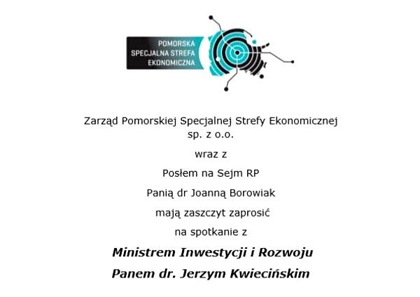 Spotkanie z Ministrem Inwestycji i Rozwoju we Włocławku