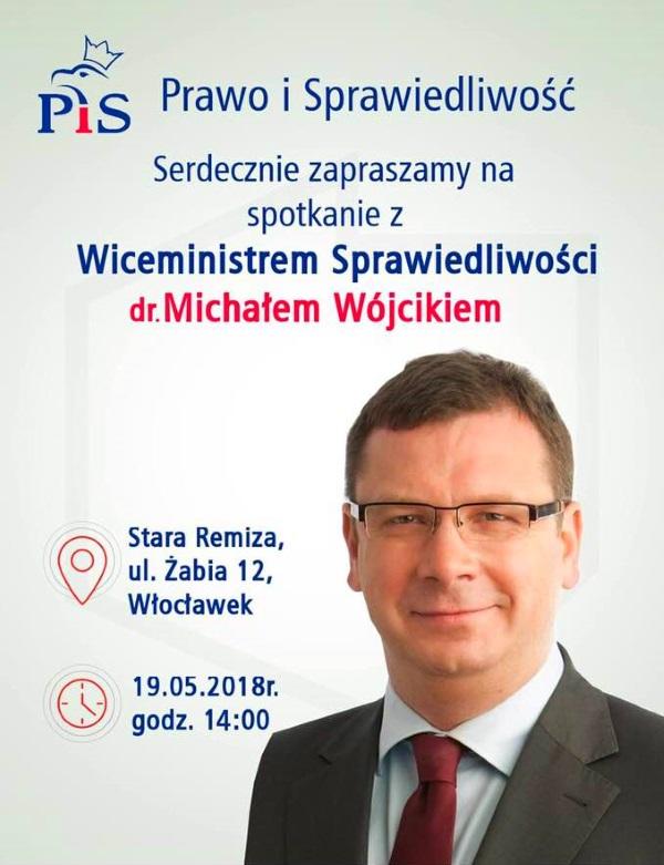 Spotkanie z Wiceministrem Sprawiedliwości Panem Michałem Wójcikiem