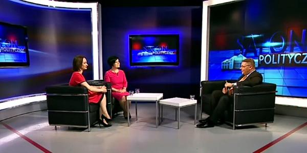 Gośćmi Tomasza Grzelewskiego w Telewizji Superstacja były Joanna Borowiak i Joanna Augustynowska