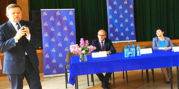 Wizyta Sekretarza Stanu w Ministerstwie Obrony Narodowej Wojciecha Skurkiewicza w Bądkowie i Radziejowie