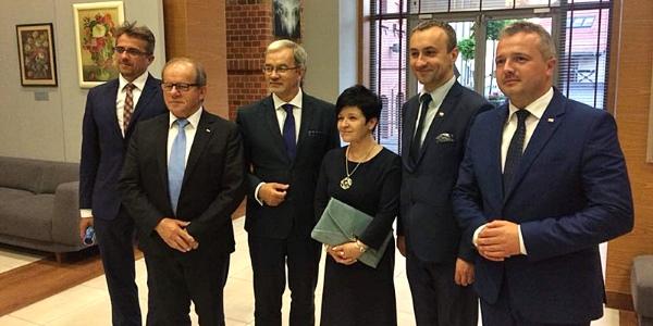 Wizyta Ministra Inwestycji i Rozwoju dr. Jerzego Kwiecińskiego we Włocławku