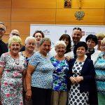 """Konferencja """"Seniorzy w Niepodległej"""" w Wyższej Szkole Kultury Społecznej i Medialnej w Toruniu"""