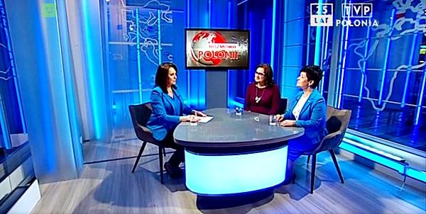 Poseł Joanna Borowiak gościem w programie Rozmowa Polonii