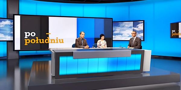 Poseł Joanna Borowiak w programie Telewizji Republika