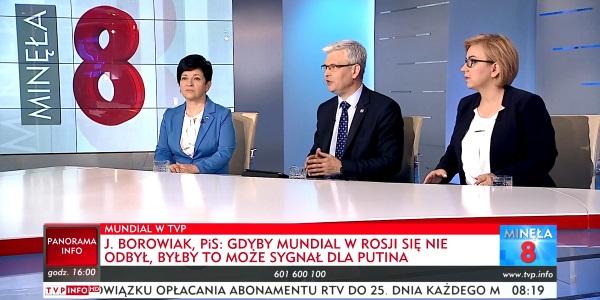 Poseł Joanna Borowiak gościem Minęła 8