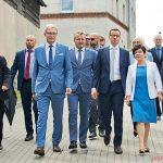 Premier Mateusz Morawiecki odwiedził województwo Kujawsko-Pomorskie