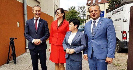Oficjalne otwarcie siedziby Wydziału Spraw Terenowych Regionalnej Dyrekcji Ochrony Środowiska we Włocławku
