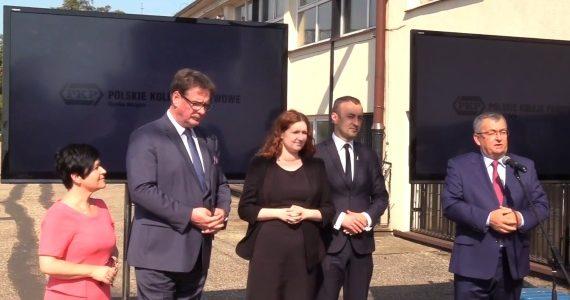 Briefing prasowy Ministra Andrzeja Adamczyka we Włocławku