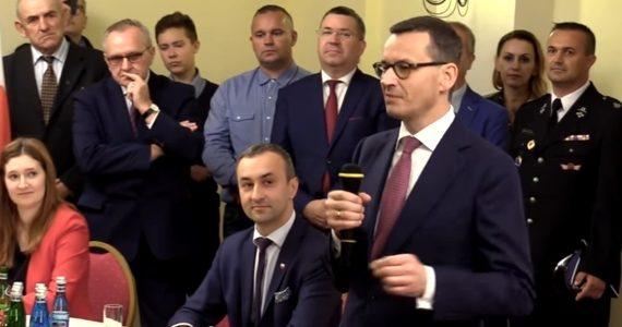 Poseł Joanna Borowiak wzięła udział w spotkaniu Premiera Mateusza Morawieckiego z mieszkańcami Włocławka