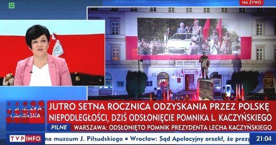 """Poseł Joanna Borowiak gościem w programie """"Minęła 20"""" w TVP Info"""
